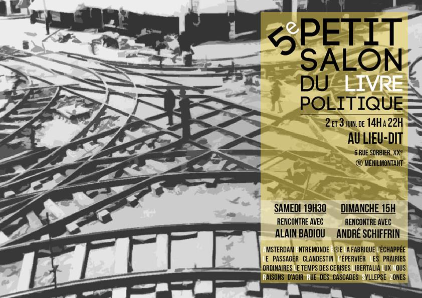 Libertalia au petit salon du livre politique paris xx for Salon du livre politique